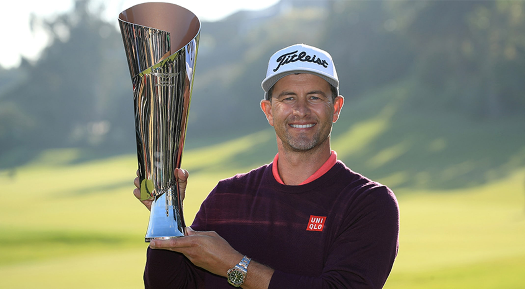 Defending champion Adam Scott