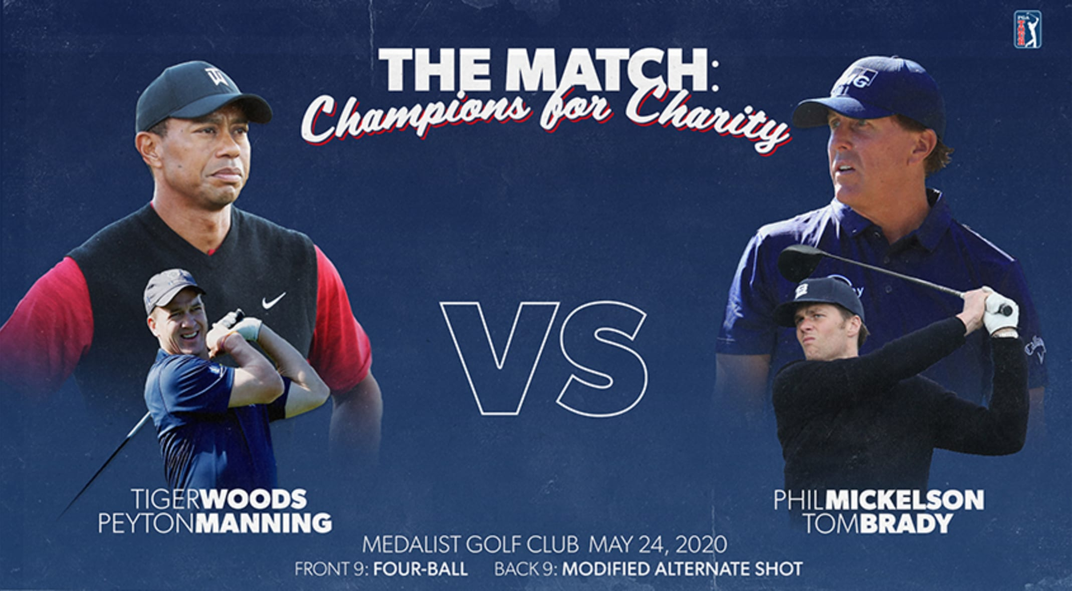 Turner Sports presents 'Capital One's The Match: Champions for ...