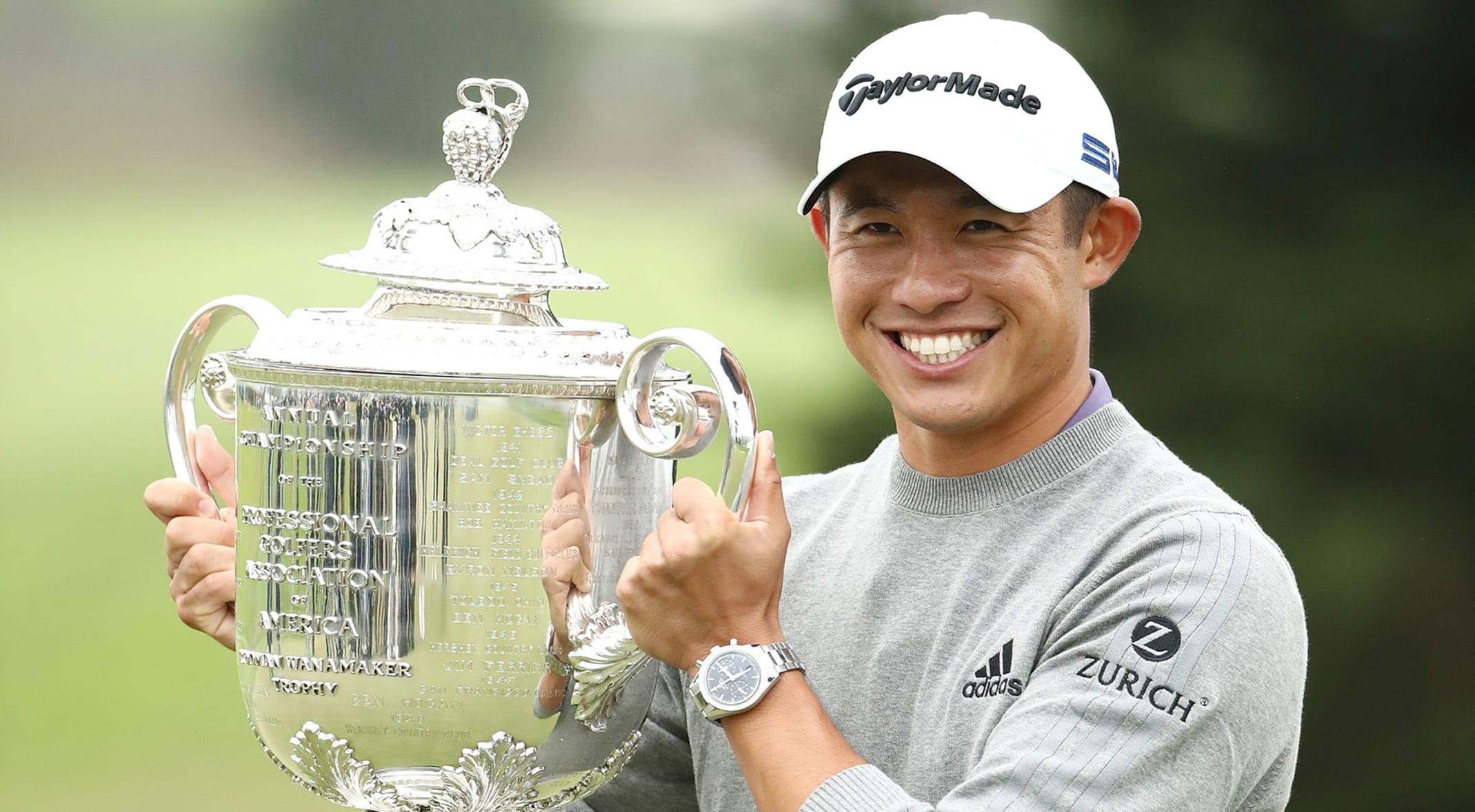 Defending champion Collin Morikawa