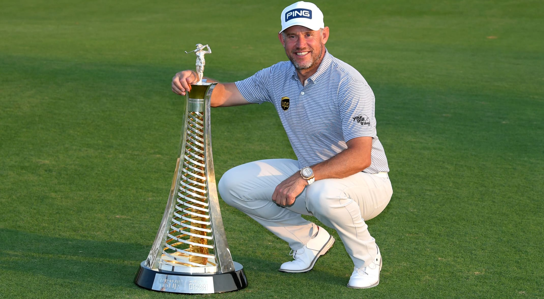 2020 Race to Dubai champion Lee Westwood