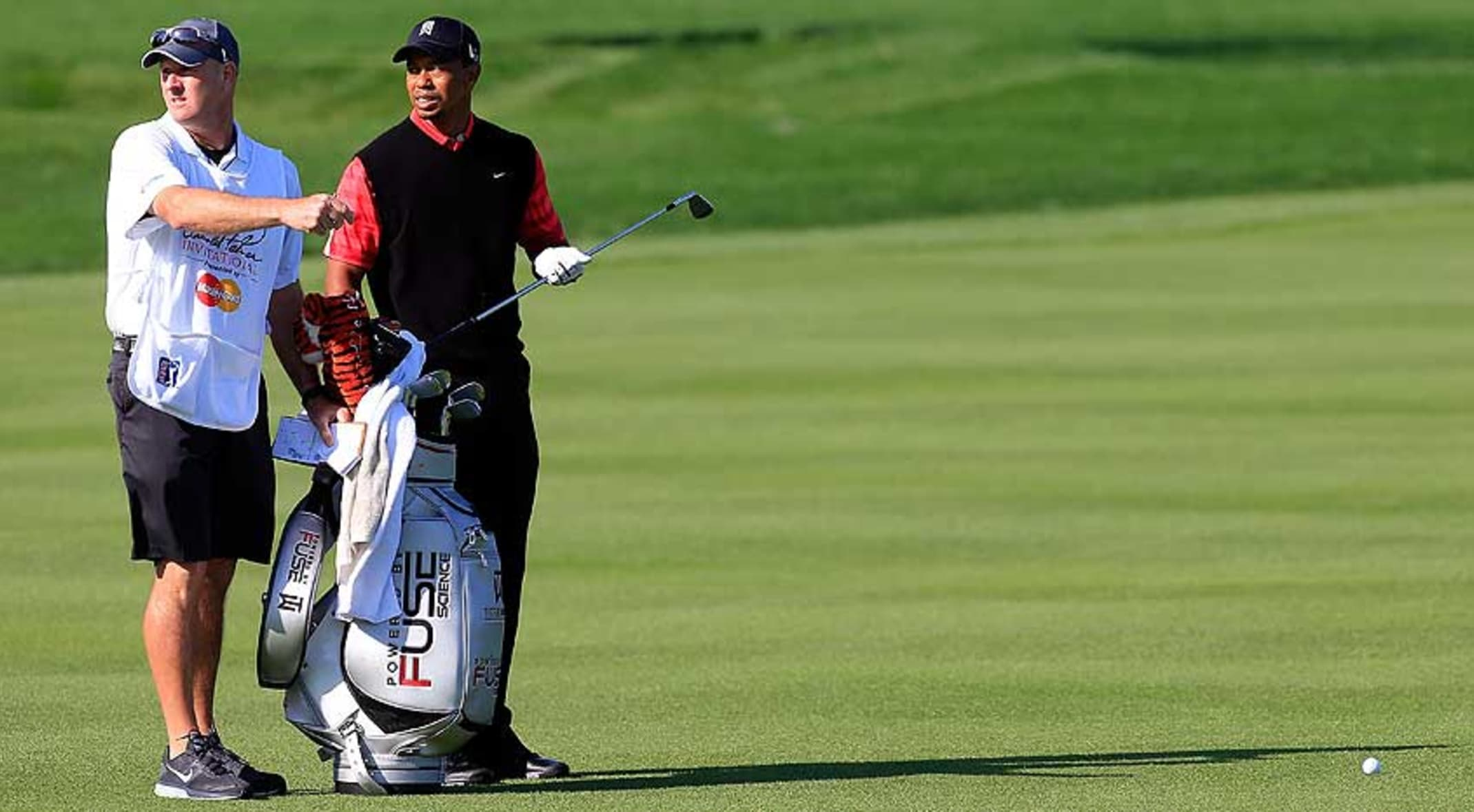 Tiger Woods has won the event eight times but won't win his ninth in