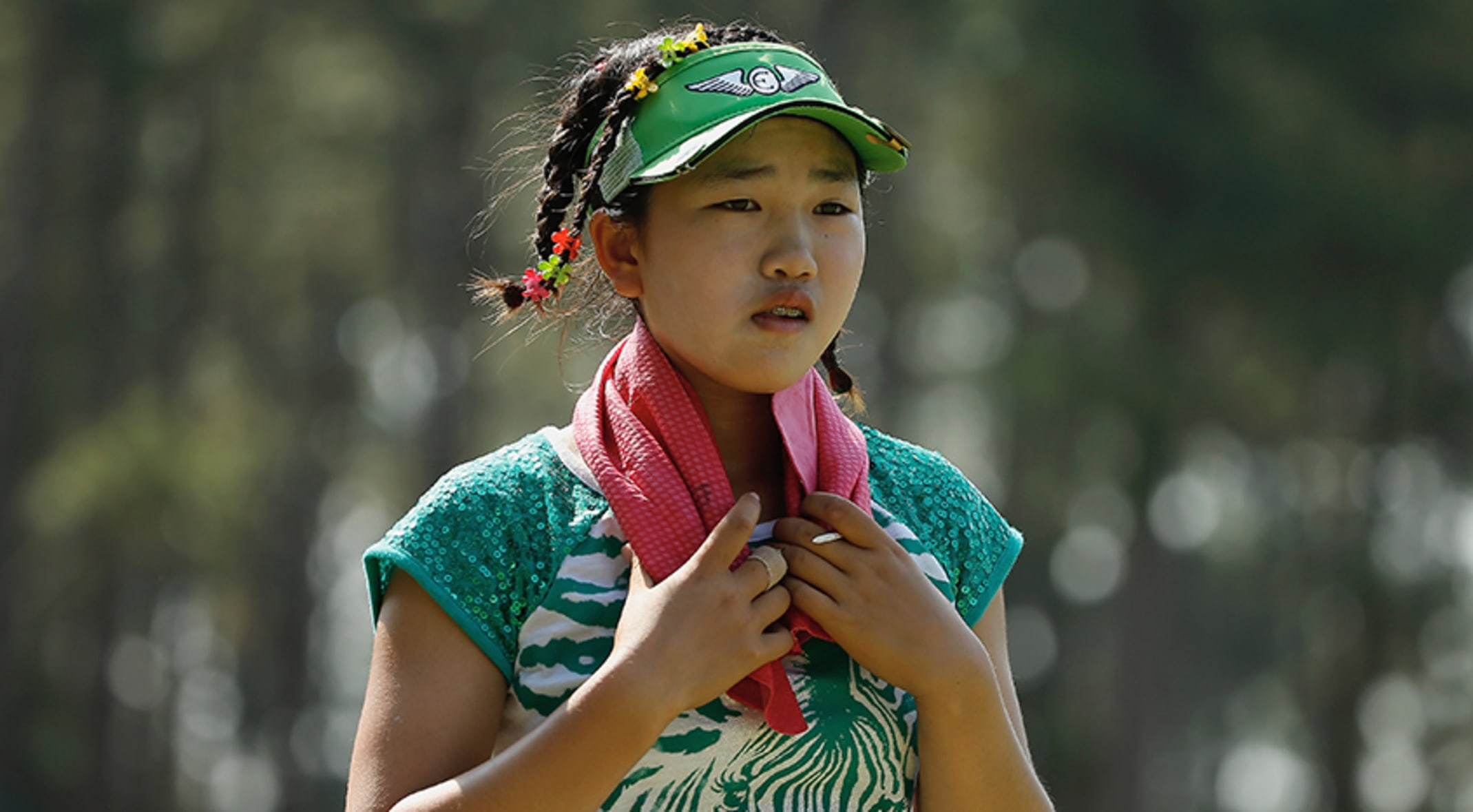 Lucy Li 11 Could Be The Youngest Lpga Player To Make The Cut In