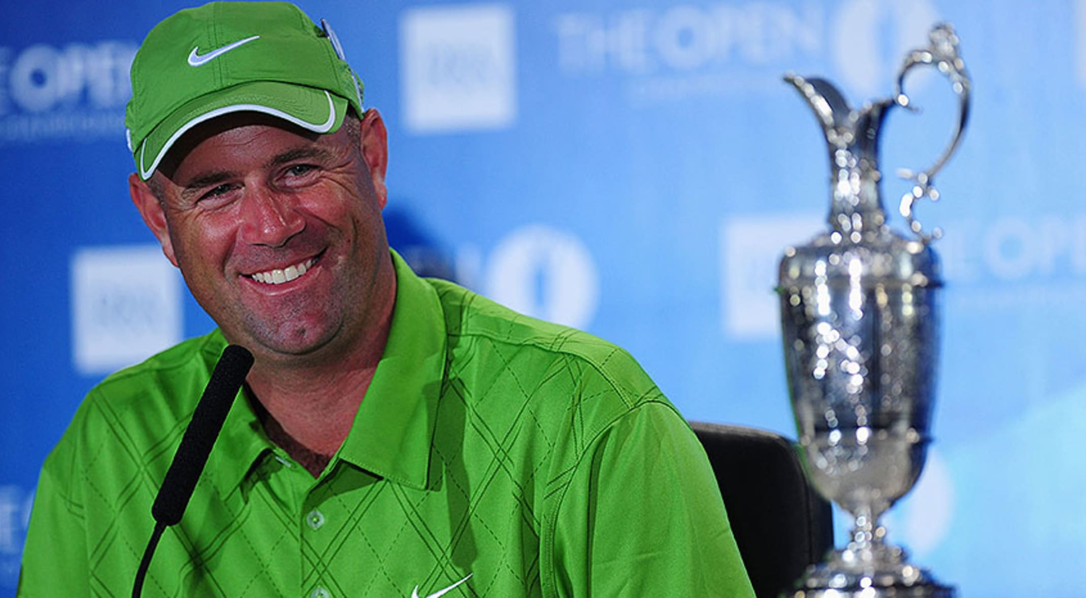 0025bde1fac Stewart Cink beat Tom Watson in a playoff in 2009 at Turnberry. (Stuart  Franklin