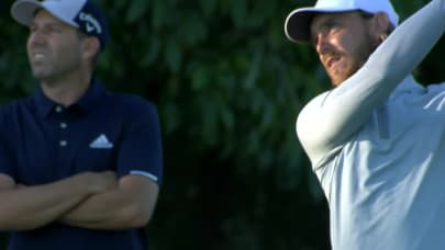 4592e1967e8c9 Tommy Fleetwood s solid approach yields birdie putt at Zurich Classic