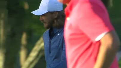 629f893bf335b Tommy Fleetwood gets up-and-down for birdie at Zurich Classic. SHOW MORE