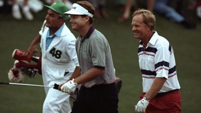 Where were you in 1986 when Nicklaus won the Masters?