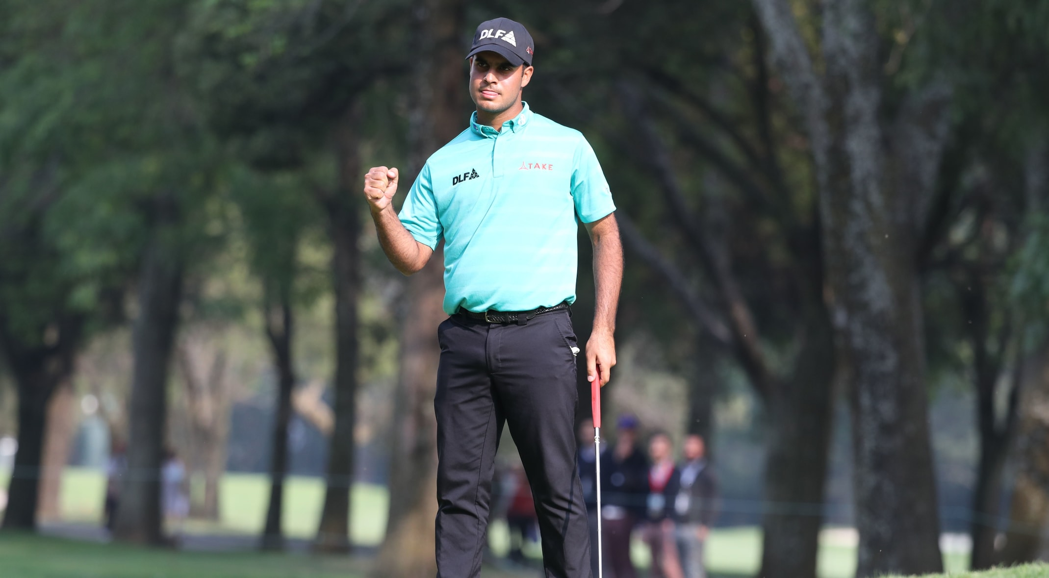 6986a8407712f Shubhankar Sharma leads by himself at WGC-Mexico Championship