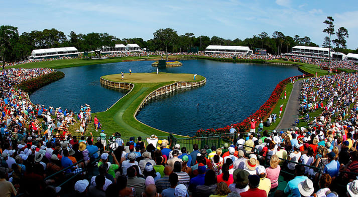 THE PLAYERS will now have a three-hole, aggregate playoff in the event of a tie. (Mike Ehrmann/Getty Images)