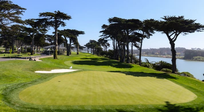 TPC Harding Park hosts the PGA Championship for the first time. (Keyur Khamar/PGA TOUR)