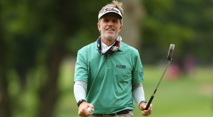 Brett Quigley took over the No. 1 spot on the Charles Schwab Cup standings. (Getty Images)