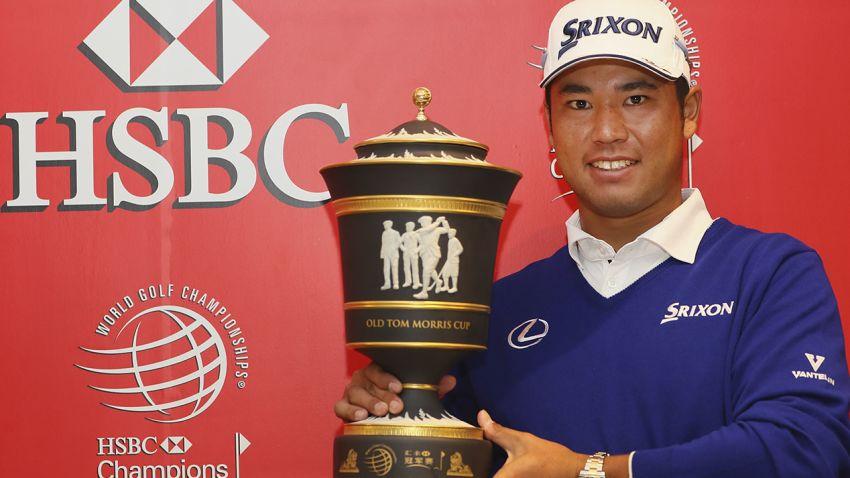 Defending champion Hideki Matsuyama