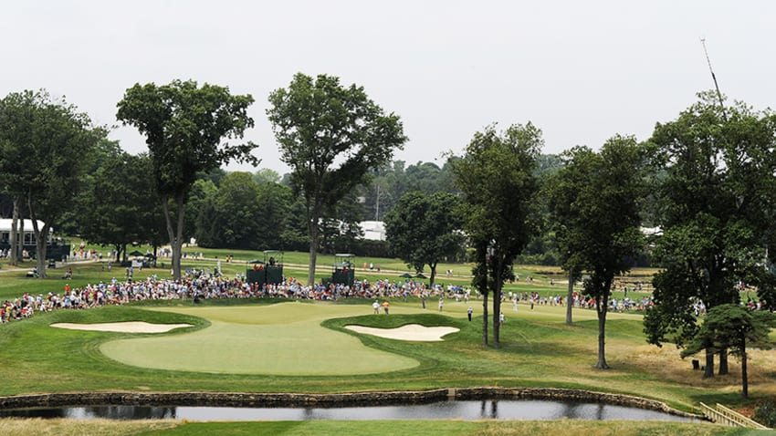 Aronimink Golf Club will host the 2018 BMW, the third leg of the FedExCup Playoffs. (Stan Badz/PGA TOUR)