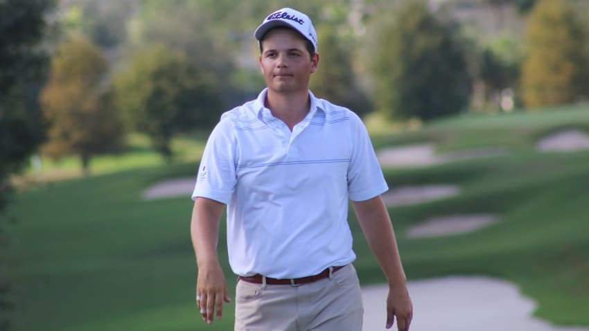 Reigning Division II Player of the Year John VanDerLaan secured 2019 Web.com Tour membership via Second Stage. (Kevin Prise/PGA TOUR)