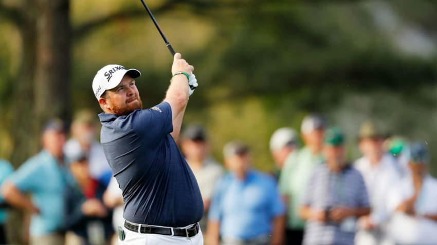 Shane Lowry was in complete control hitting 13 of 14 fairways in the first round and 14 of 18 greens in regulation. (Kevin C. Cox/Getty Images)