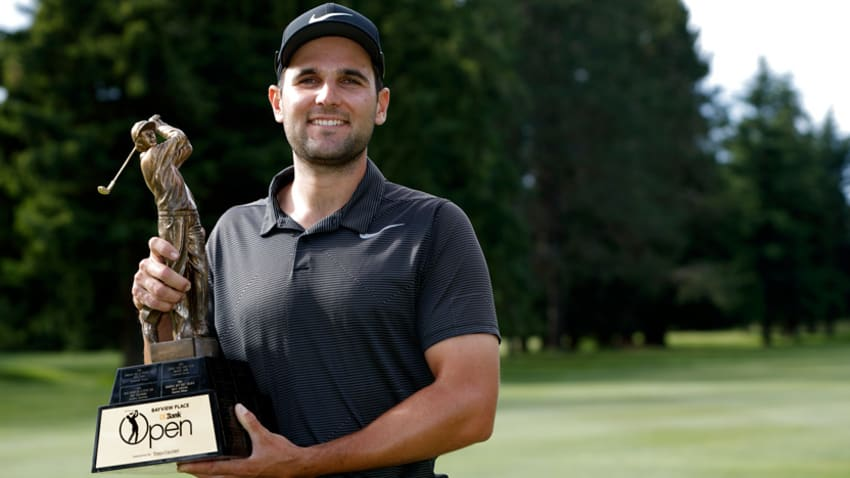 Paul Barjon only carded two bogeys through all four rounds at the Bayview Place DCBank Open presented by Times Colonist. (Kevin Light/Mackenzie Tour)