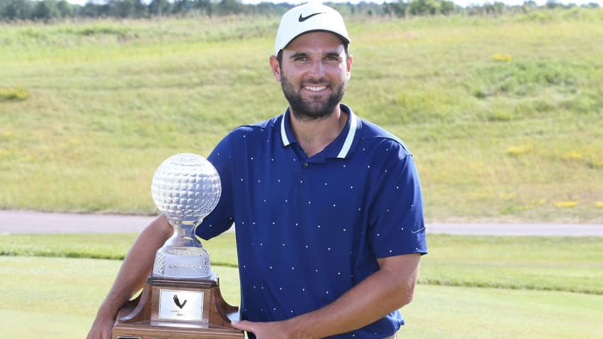 Paul Barjon carded a final-round 67 to clinch the win. (Claus Anderson/Mackenzie Tour)