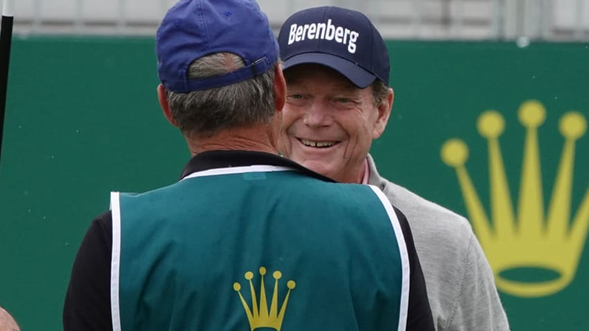 Tom Watson at the Senior OPEN