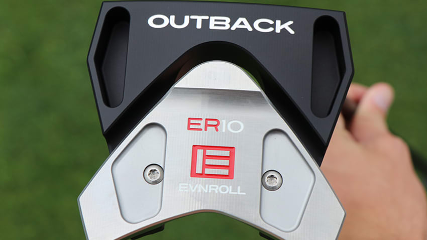 EvnRoll��s new ER10 Outback putter was designed with greater stability in mind. (Andrew Tursky/PGA TOUR)