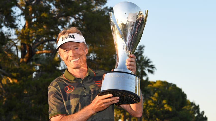2018 Schwab Cup winner Bernhard Langer