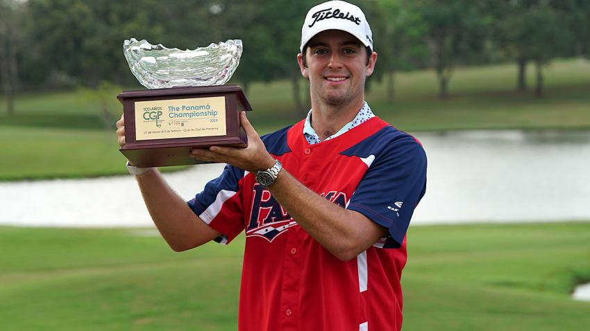 Davis Riley shot a final-round 69 at Club de Golf de Panama for a one-shot win over Roberto Diaz. (Dave Evenson/PGA TOUR)
