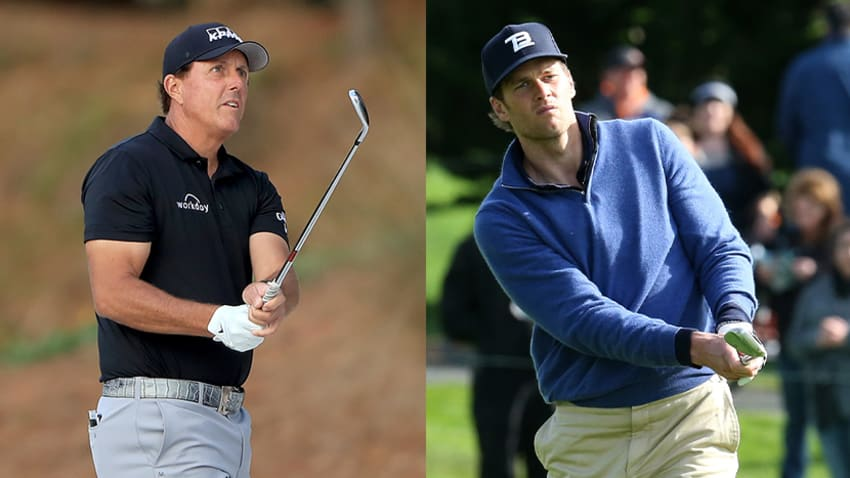 Phil Mickelson and Tom Brady Take on Bryson Dechambeau & Aaron Rodgers
