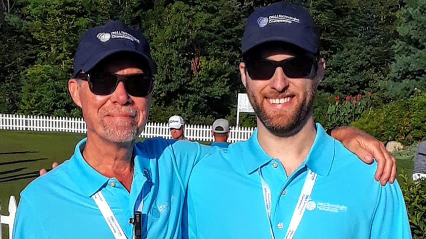Wyn Morton has volunteered for 16 PGA TOUR events. (Courtesy of Wyn Morton)
