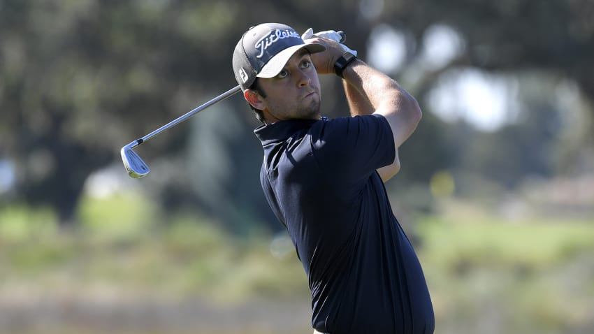 Davis Riley has finished top-12 in three of six starts this season, including a win. (Stan Badz/PGA TOUR)