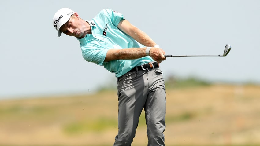 Wake Forest alum Will Zalatoris has finished top-six in all four Return to Golf events. (Matthew Stockman/Getty Images)