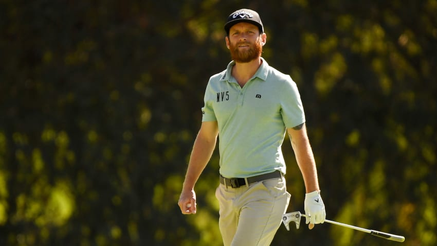 Tyler McCumber opened The Genesis Invitational with rounds of 67-68 to sit at 7 under. (Harry How/Getty Images)