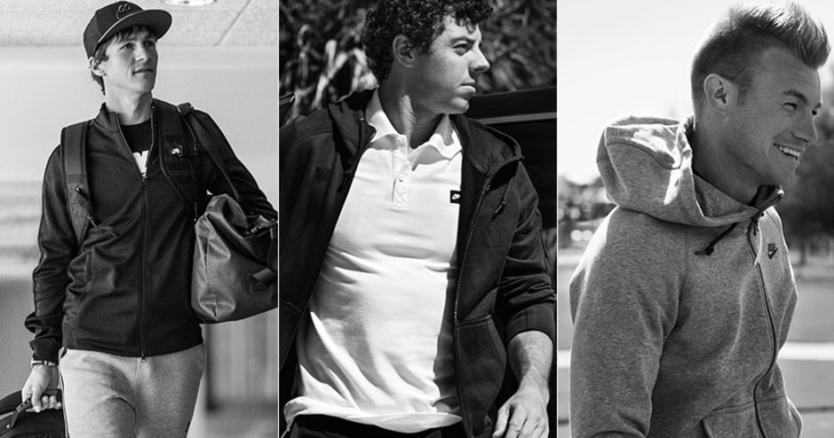 Style insider nike golfs new club collection nike golf club collection ambassadors thorbjorn olesen rory mcilroy and oliver fisher photos gumiabroncs Images