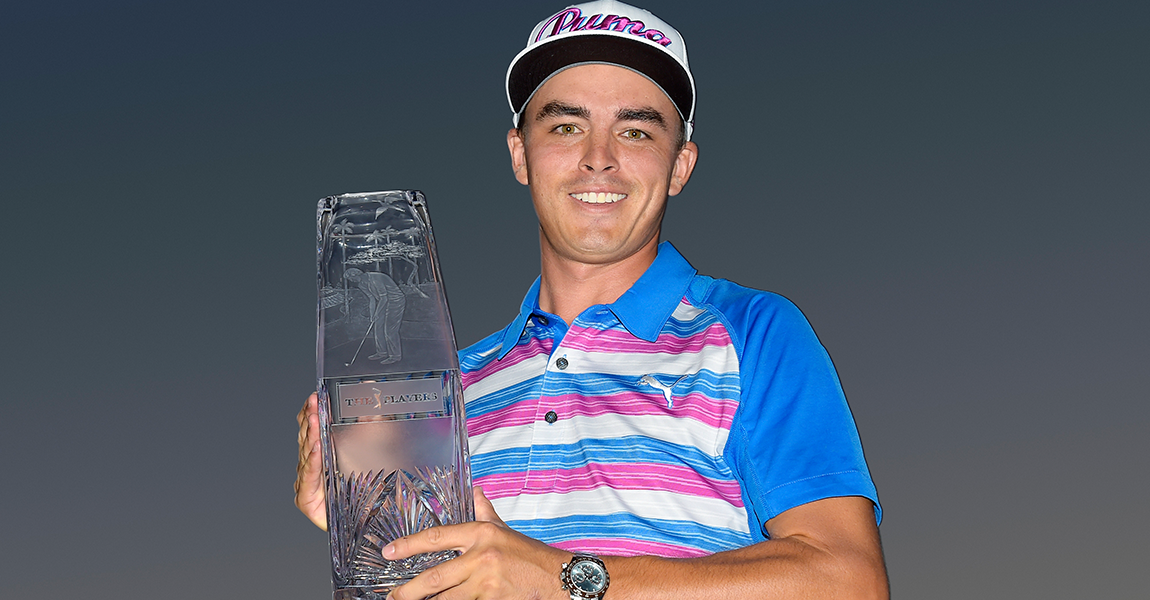 5f4b07e7b61 Rickie Fowler wins THE PLAYERS Championship in 2015. (PGA TOUR)