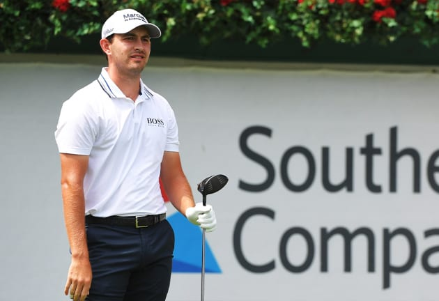 Cantlay leads by one at TOUR Championship