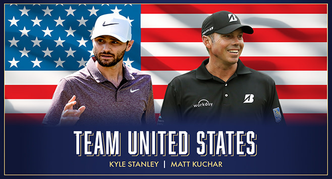 Team USA -- Kuchar and Stanley