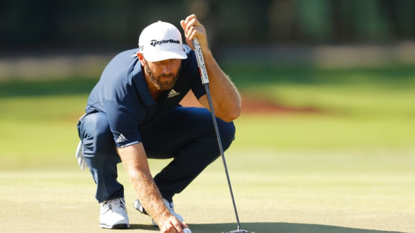 Dustin Johnson's clutch par save is the Shot of the Day