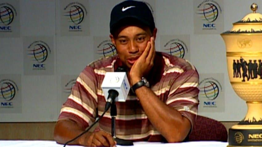 Tiger Woods wins 2005 WGC-NEC Invitational