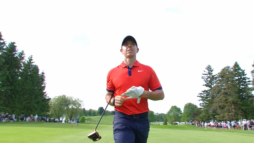 Rory McIlroy's eagle-yielding approach is the Shot of the Day