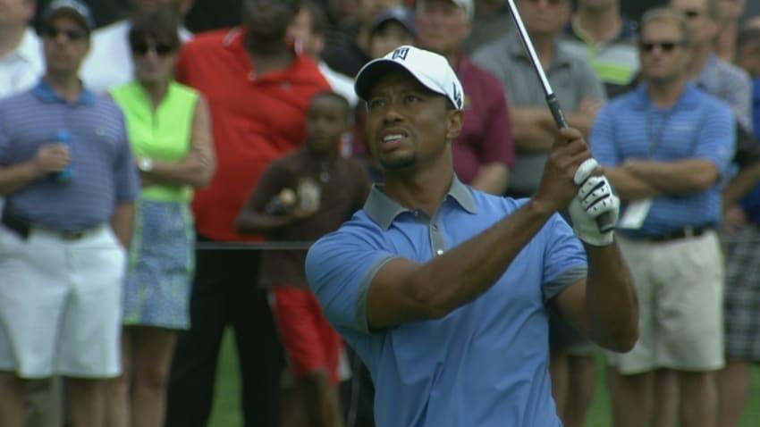 Tiger shoots 61 in Round 2 of Bridgestone Invitational