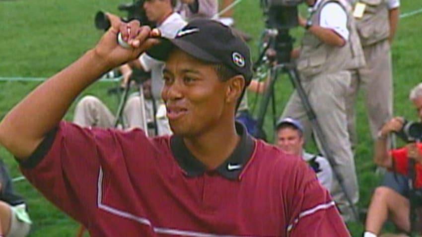 Tiger Woods wins 1999 WGC - NEC Invitational