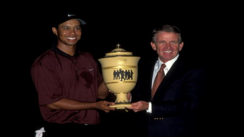 Tiger Woods' shot in the dark at 2000 NEC Invitational