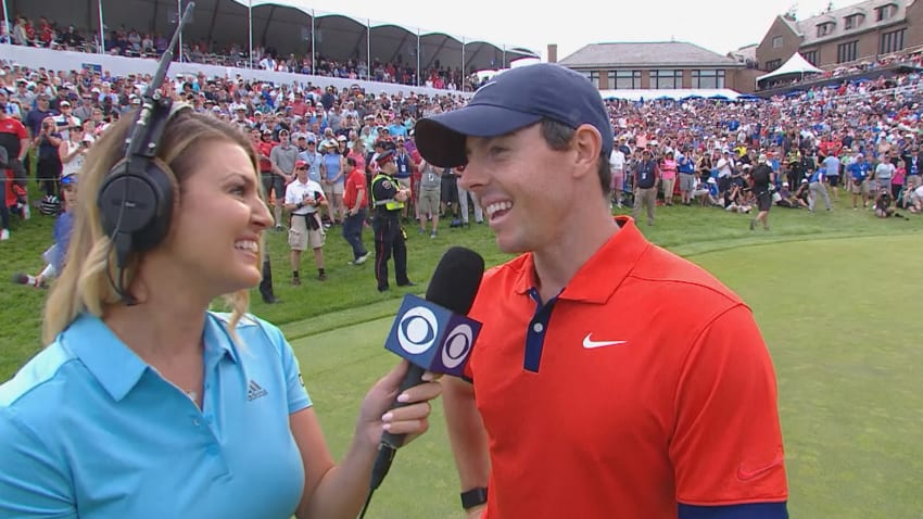 Rory McIlroy interview after winning RBC Canadian Open