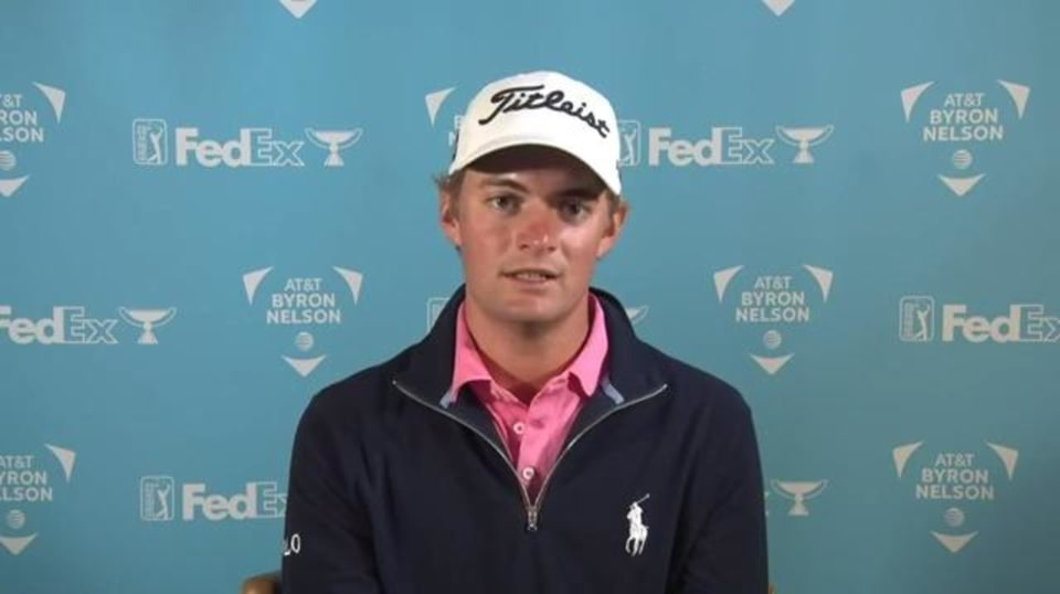 Tyler Strafaci on his mentors on the PGA TOUR before AT&T Byron Nelson - PGA TOUR Video