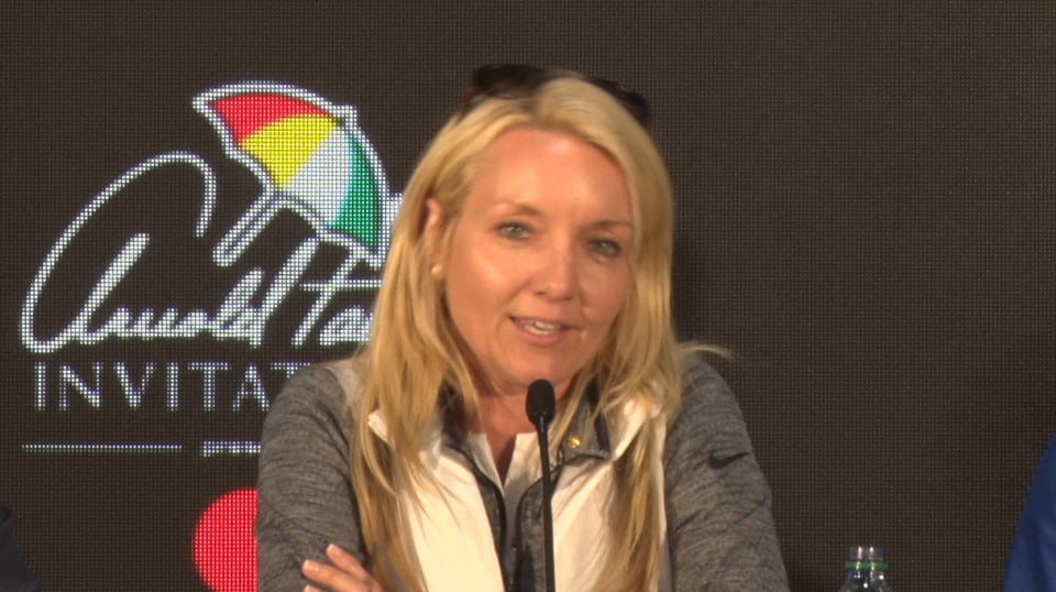 marci doyle on tiger woods entry before arnold palmer