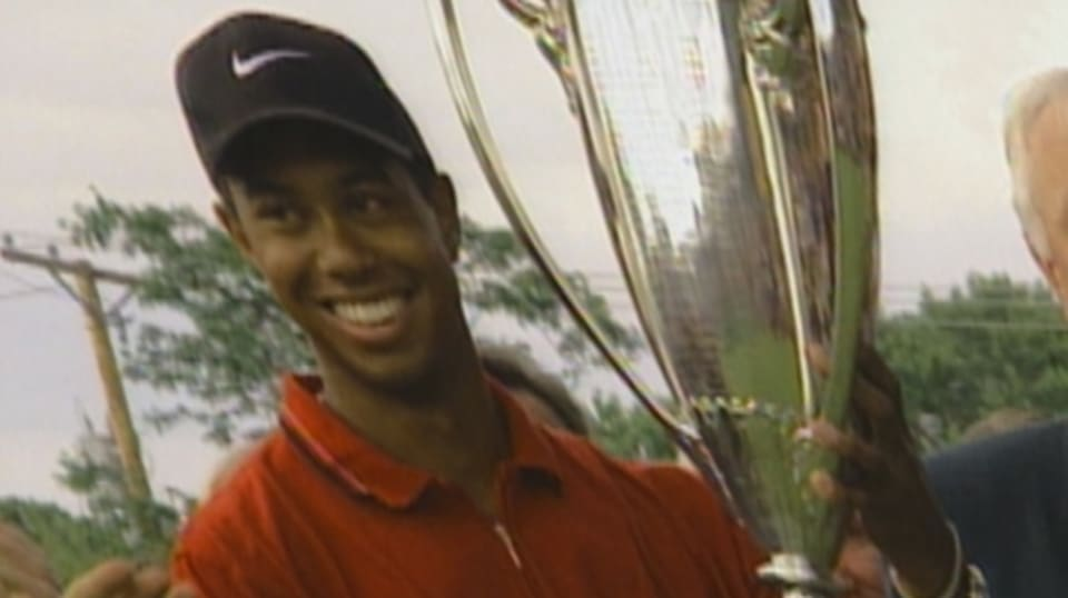 tiger woods wins 1997 motorola western open