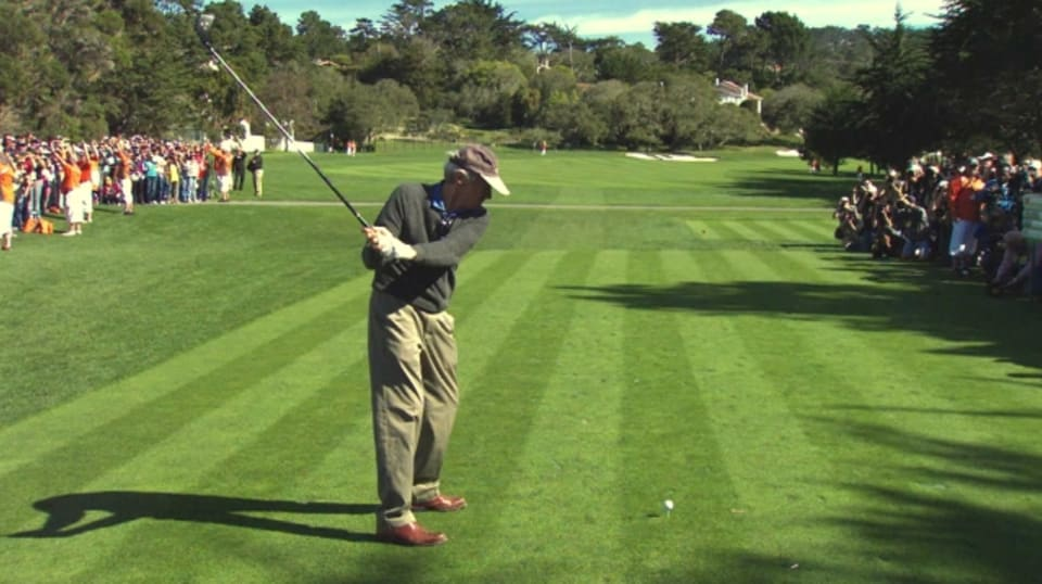 clint eastwood u2019s swing is analyzed at at u0026t pebble beach