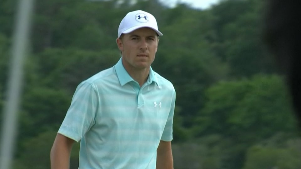 Jordan Spieth finishes with 29-foot par putt at Houston Open
