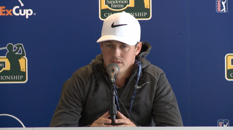 cody gribble prior to the sanderson farms championship