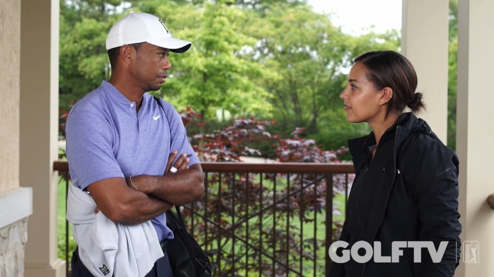 tiger woods interview after thursday of the memorial