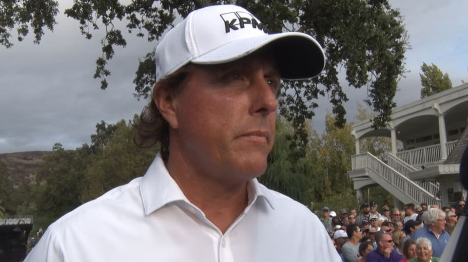 Phil Mickelson interview after Round 1 of Safeway