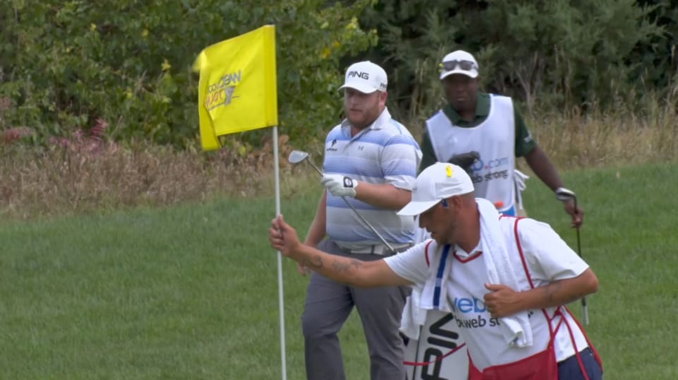 Kyle Jones keeps his lead at KC Golf Clic on