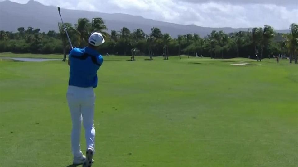 Viktor Hovland sticks second to set up eagle at Puerto Rico - PGA TOUR Video